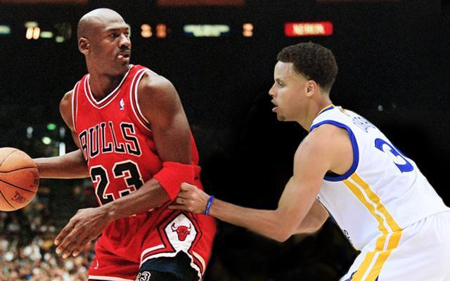 Michael Jordan vs Steph Currey
