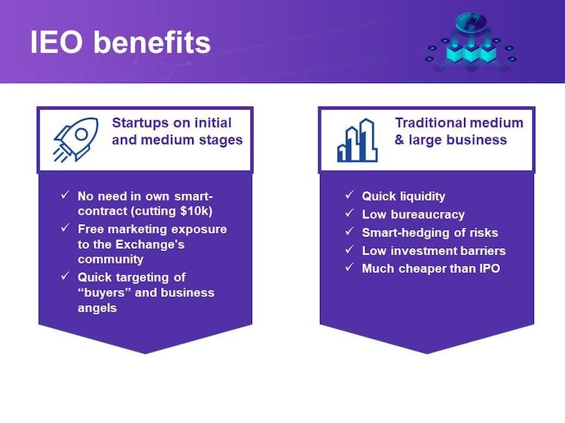IEO Benefits