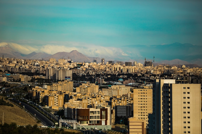 Tehran - The hot place