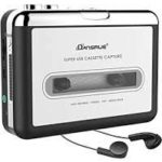 Guardyar Cassette Player Portable Tape Player Captures MP3 Audio Music via USB