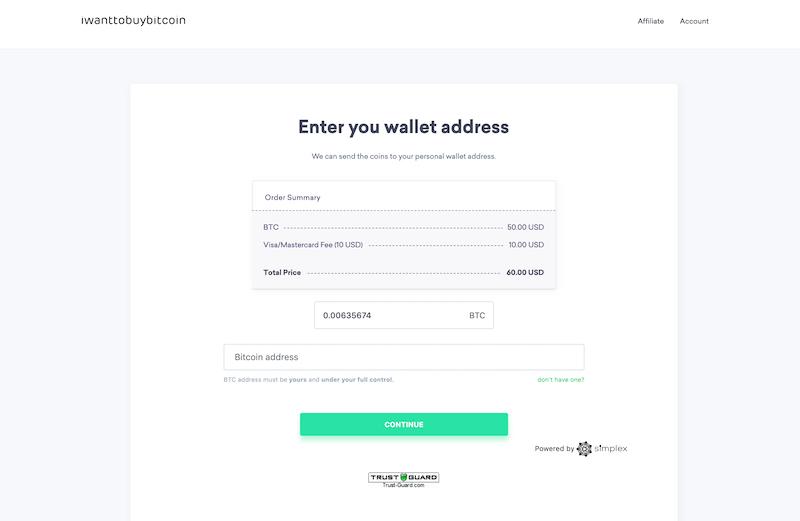 iwanttobuybitcoin wallet