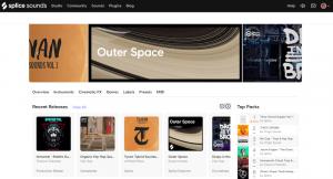 Splice Homepage