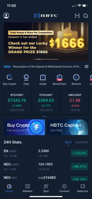 HBTC Mobile app 1
